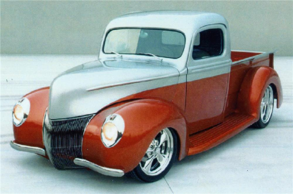 1941 FORD F-1 CUSTOM PICKUP - Front 3/4 - 152003