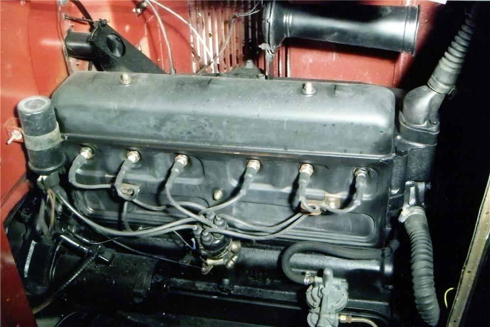 1930 CHEVROLET 4 DOOR SEDAN - Engine - 152005