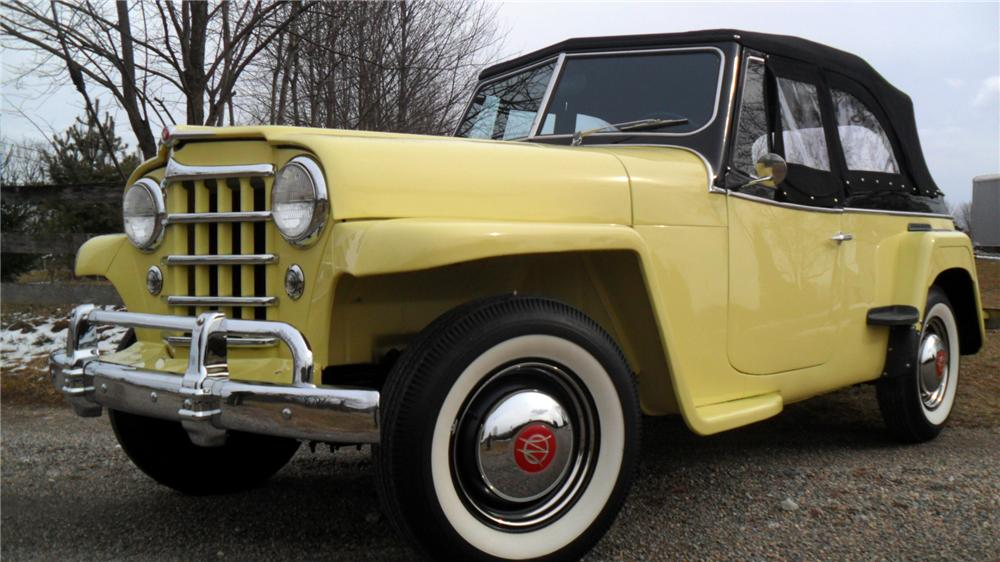 1950 WILLYS JEEPSTER CONVERTIBLE - Front 3/4 - 152009