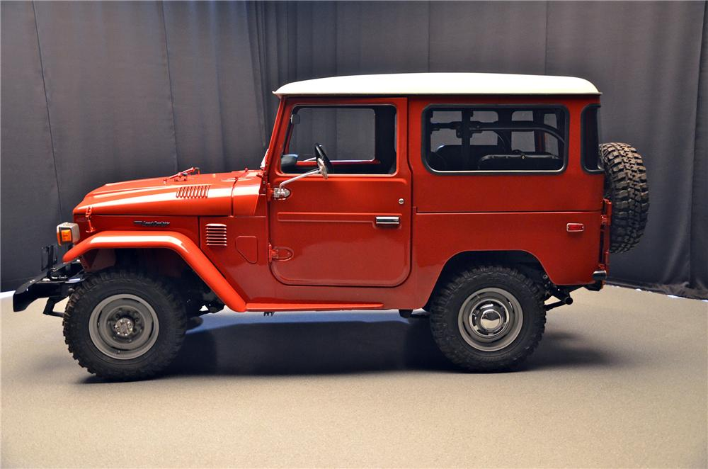 1975 TOYOTA LAND CRUISER FJ-40 HARDTOP - Side Profile - 152012