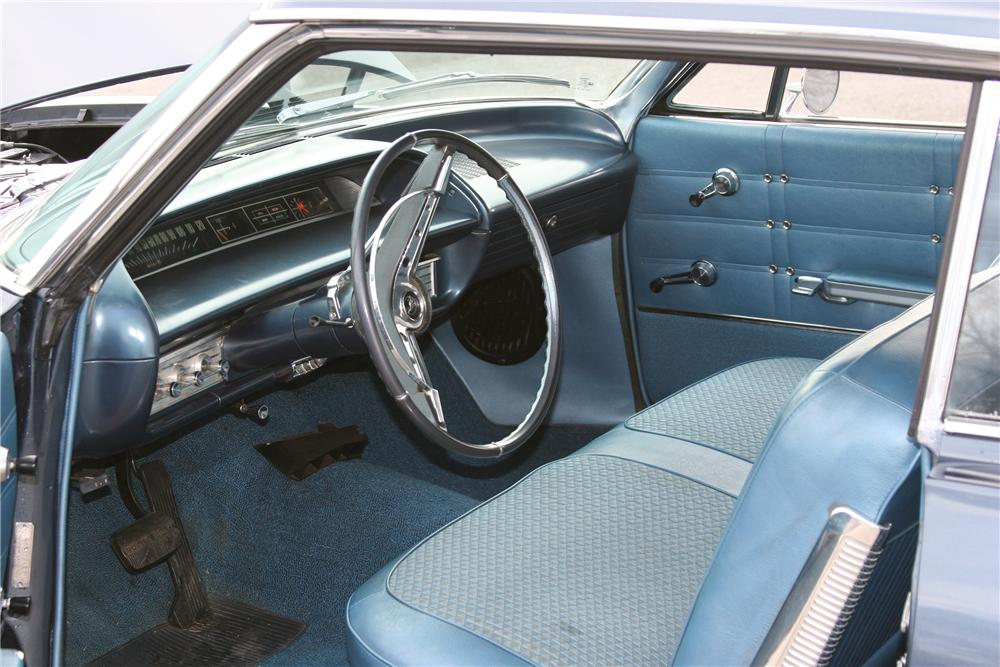 1963 CHEVROLET IMPALA 2 DOOR HARDTOP - Interior - 152015