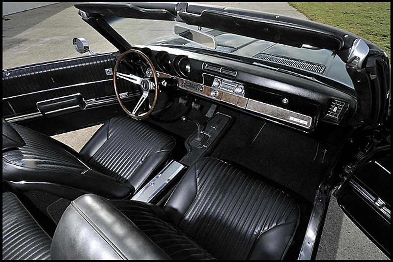 1969 OLDSMOBILE 442 CONVERTIBLE - Interior - 152021