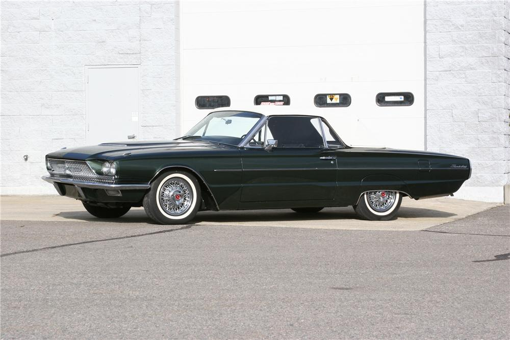 1966 FORD THUNDERBIRD CONVERTIBLE - Side Profile - 152024