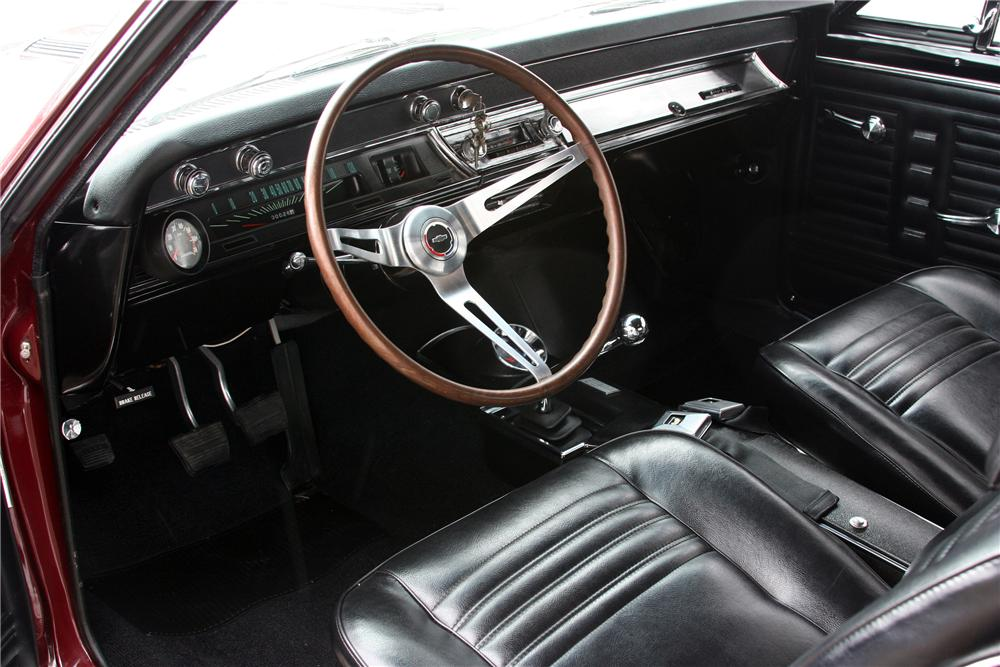 1967 CHEVROLET CHEVELLE SS 396 2 DOOR COUPE - Interior - 152026