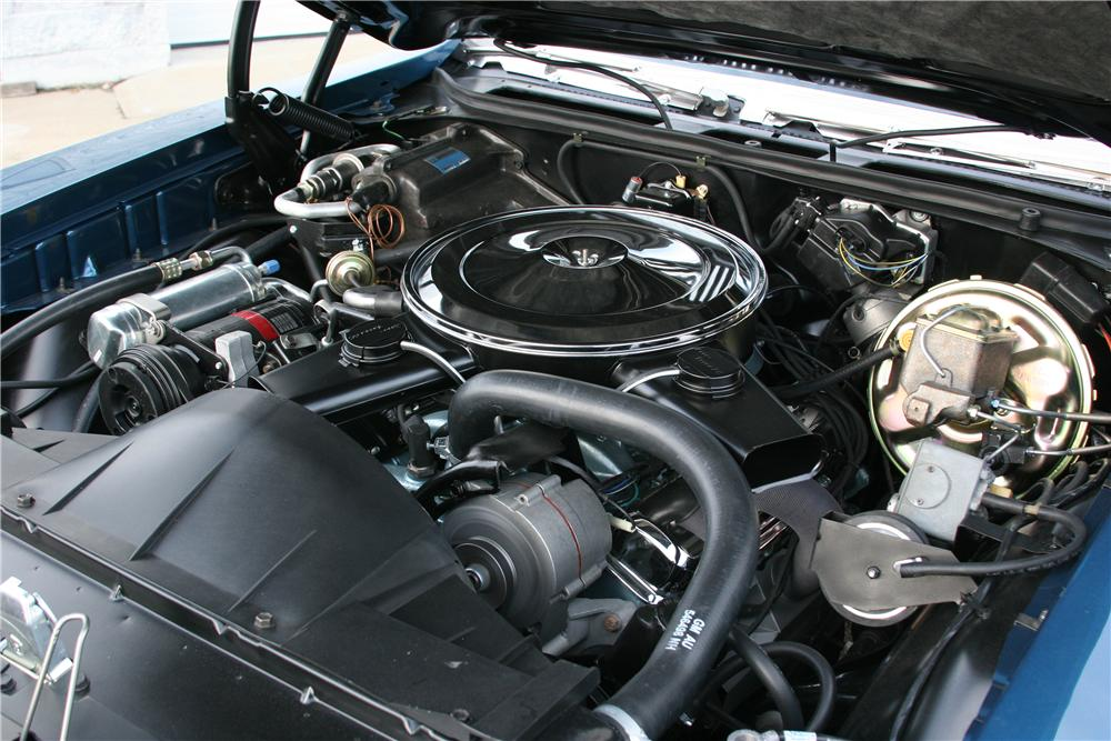 1970 PONTIAC GTO CONVERTIBLE - Engine - 152033