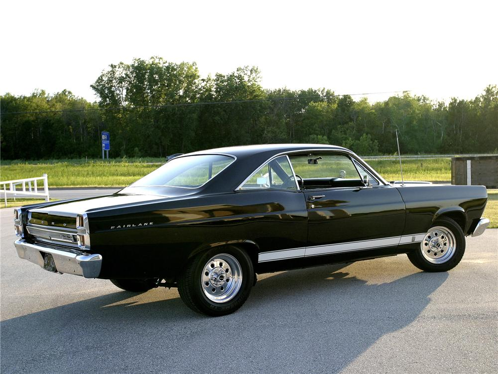 1967 FORD FAIRLANE 500 CUSTOM 2 DOOR COUPE