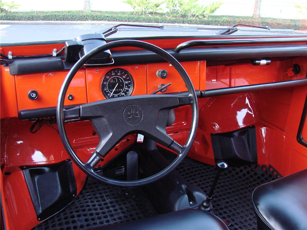 1974 VOLKSWAGEN THING CONVERTIBLE - Interior - 152044
