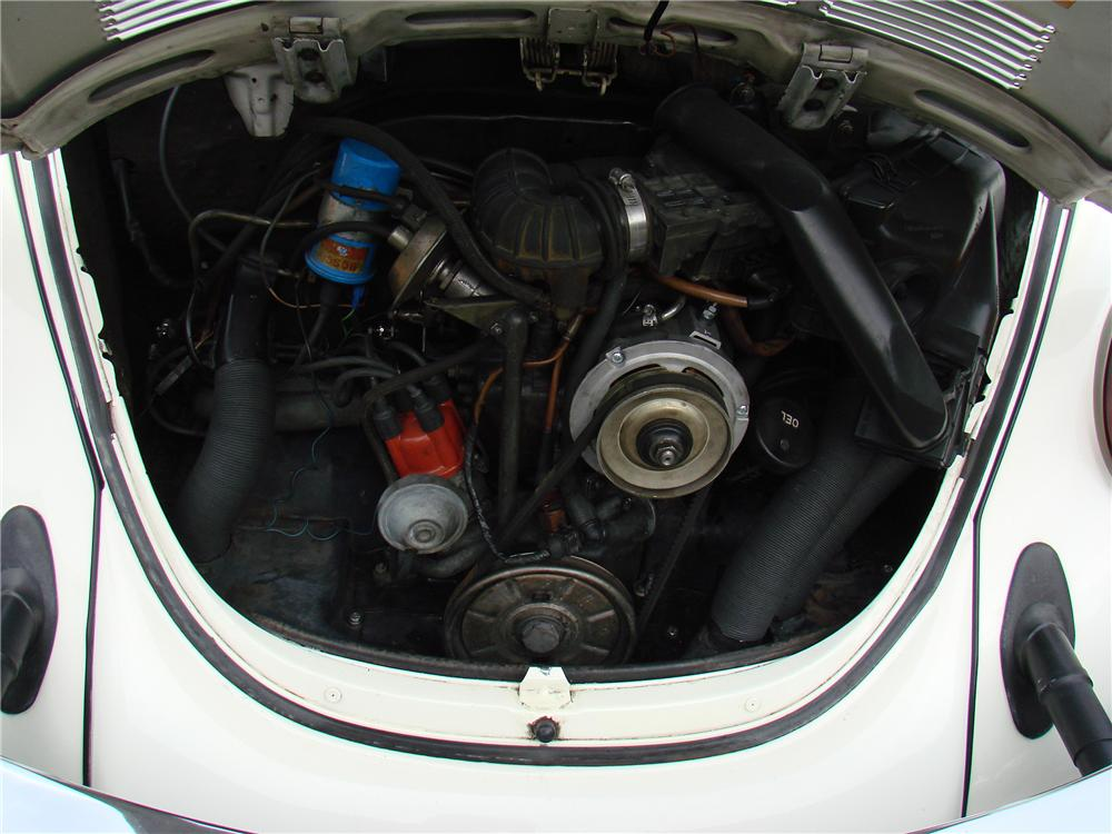 1978 VOLKSWAGEN BEETLE CONVERTIBLE - Engine - 152045