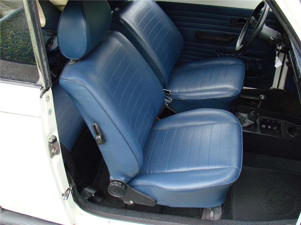 1978 VOLKSWAGEN BEETLE CONVERTIBLE - Interior - 152045