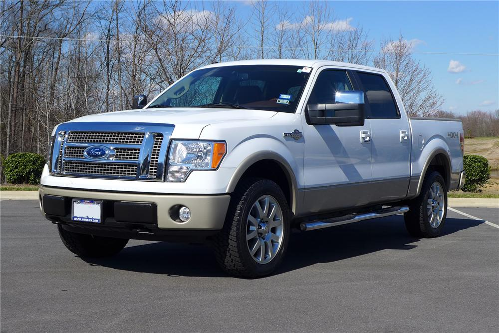 Ford F  King Ranch Super Crew Pickup Front