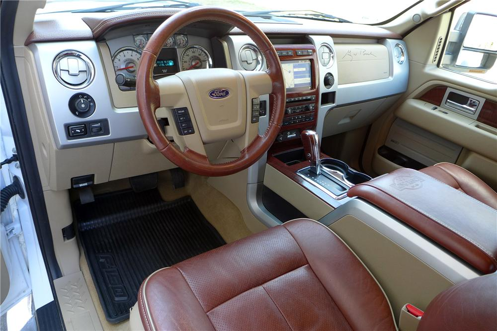 2009 FORD F 150 KING RANCH SUPER CREW PICKUP   Interior   152048 ...