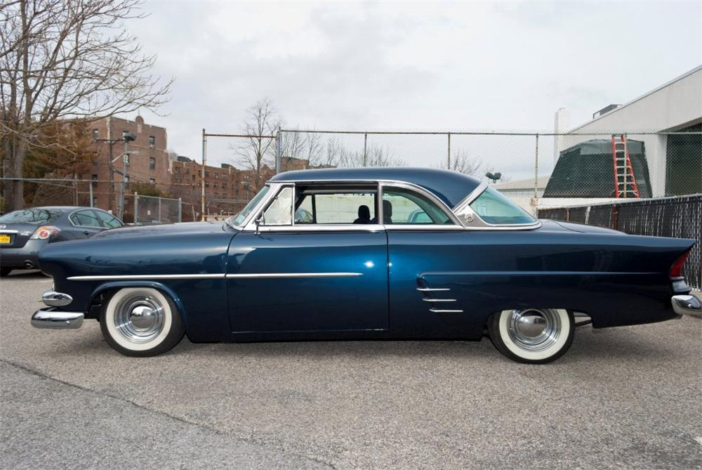 1953 FORD VICTORIA CUSTOM 2 DOOR COUPE - Side Profile - 152049