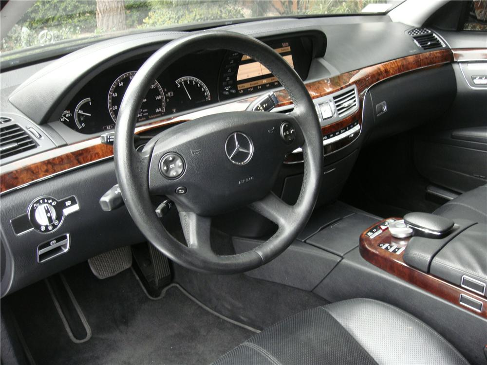 2007 MERCEDES-BENZ S550 4 DOOR SEDAN - Interior - 152050