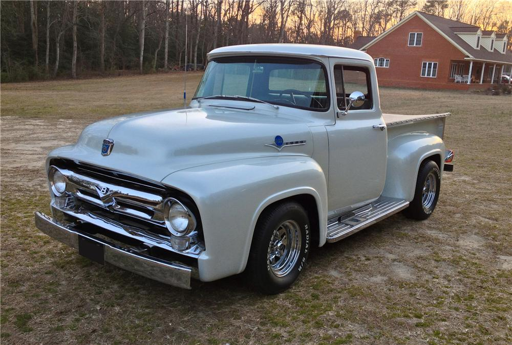 1956 FORD F-100 TRUCK - Front 3/4 - 152052