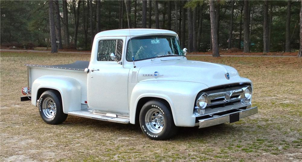 1956 FORD F-100 TRUCK - Side Profile - 152052