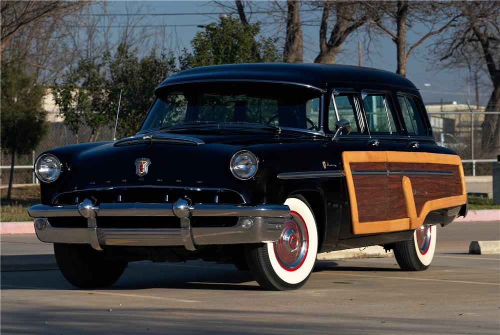 1953 mercury monterey 4 door woody wagon 152054