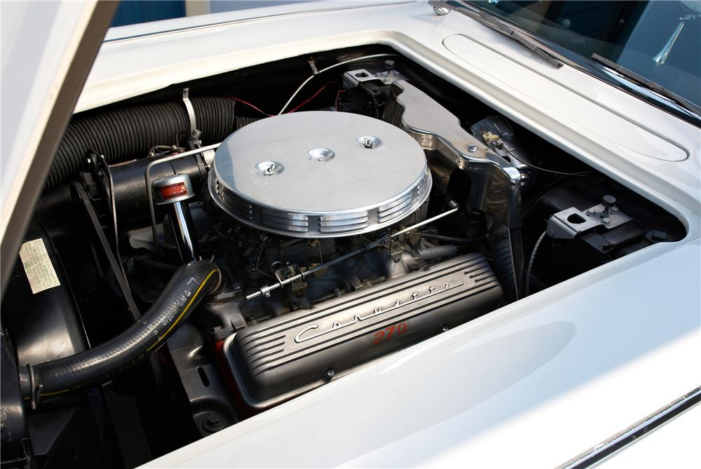 1958 CHEVROLET CORVETTE CONVERTIBLE - Engine - 152059