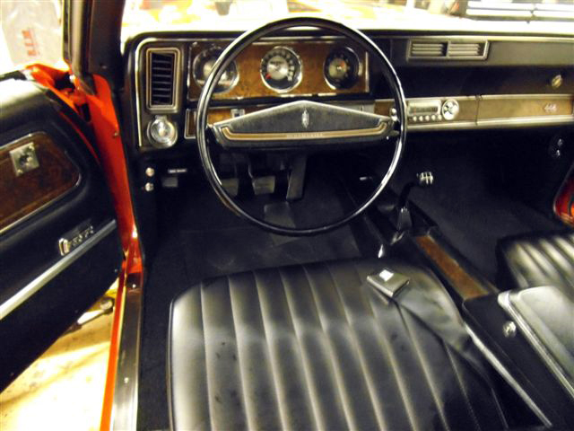 1970 OLDSMOBILE 442 CONVERTIBLE - Interior - 152071