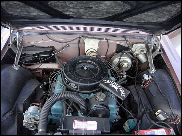 1963 BUICK LE SABRE CONVERTIBLE - Engine - 152072