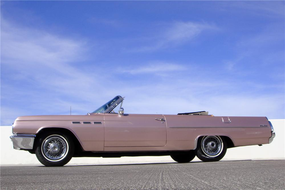 1963 BUICK LE SABRE CONVERTIBLE - Side Profile - 152072