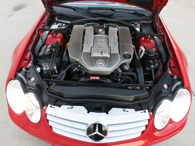 2005 MERCEDES-BENZ SL55 AMG CONVERTIBLE - Engine - 152074