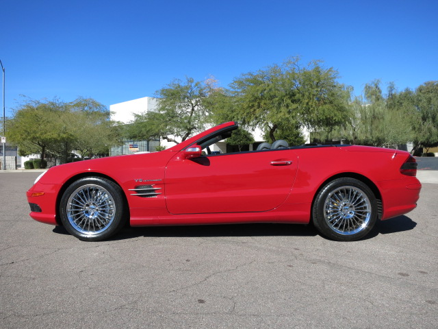 2005 MERCEDES-BENZ SL55 AMG CONVERTIBLE - Side Profile - 152074