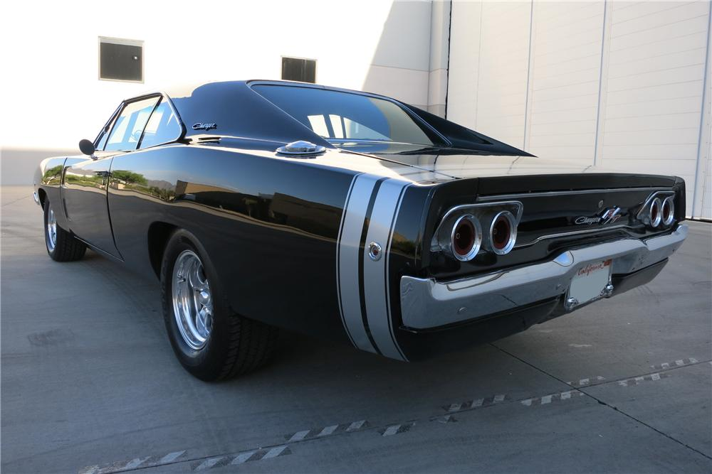 1968 DODGE CHARGER CUSTOM 2 DOOR COUPE - 152075