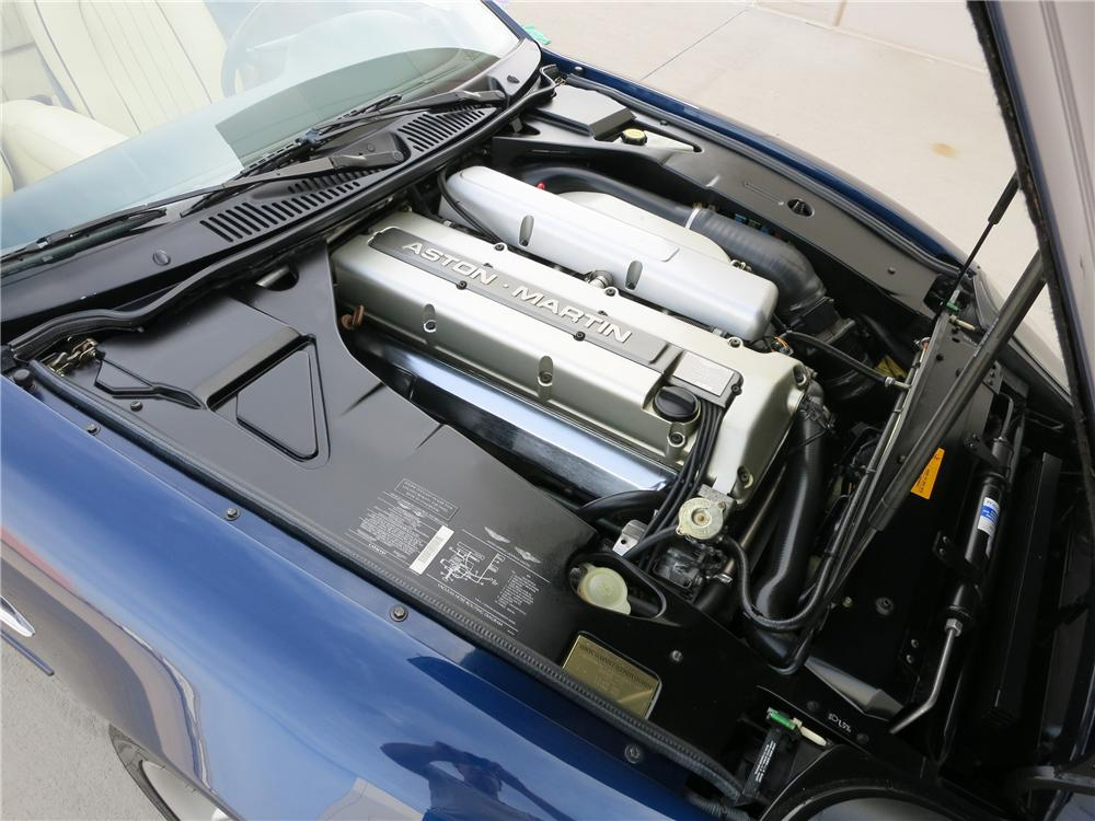 1998 ASTON MARTIN DB 7 CONVERTIBLE - Engine - 152076
