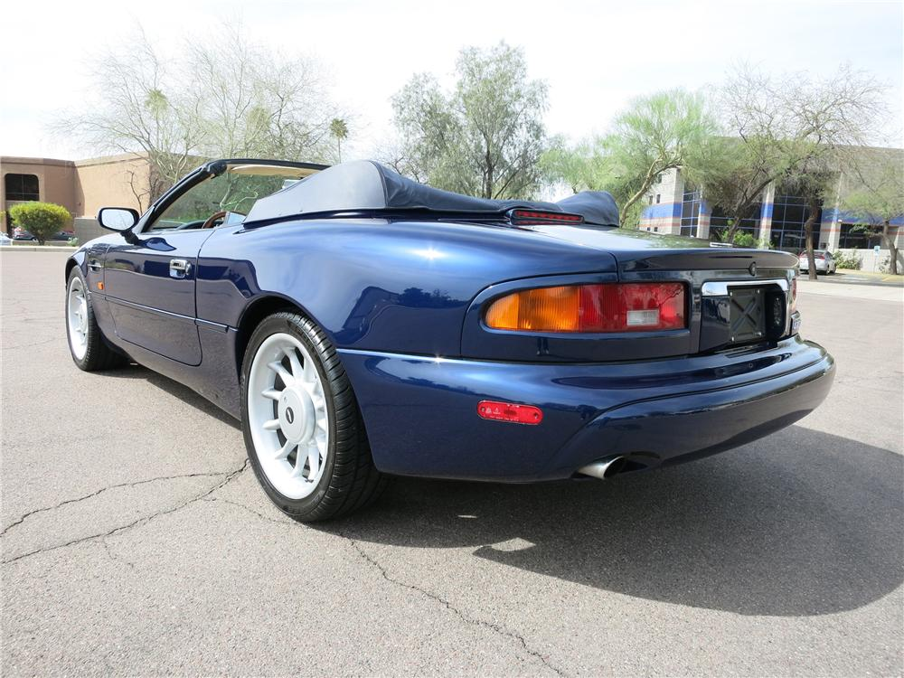 1998 ASTON MARTIN DB 7 CONVERTIBLE - Rear 3/4 - 152076
