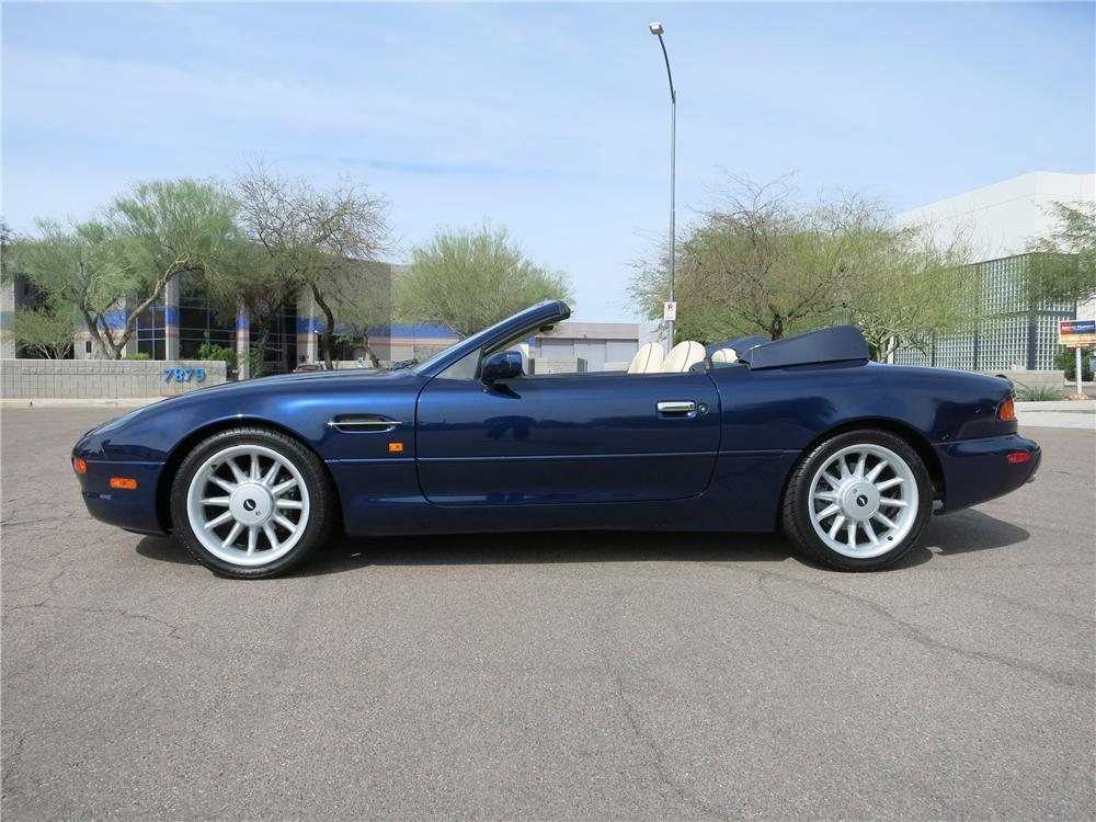 1998 ASTON MARTIN DB 7 CONVERTIBLE - Side Profile - 152076