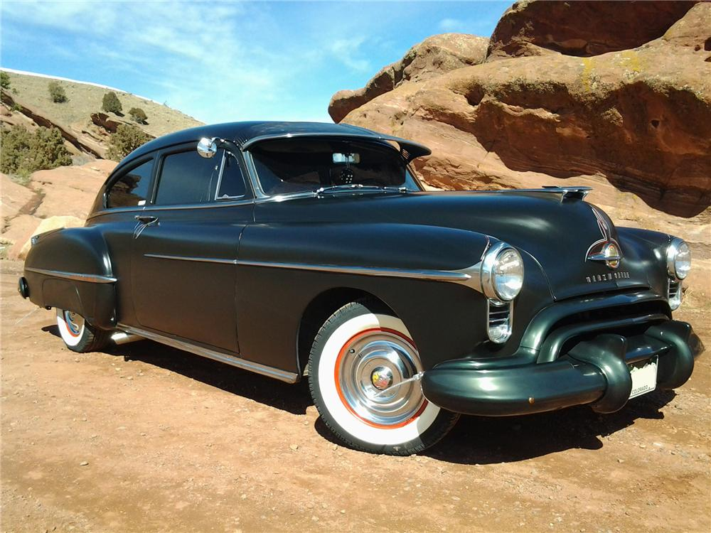 1950 OLDSMOBILE 88 CUSTOM 2 DOOR COUPE - Interior - 152079