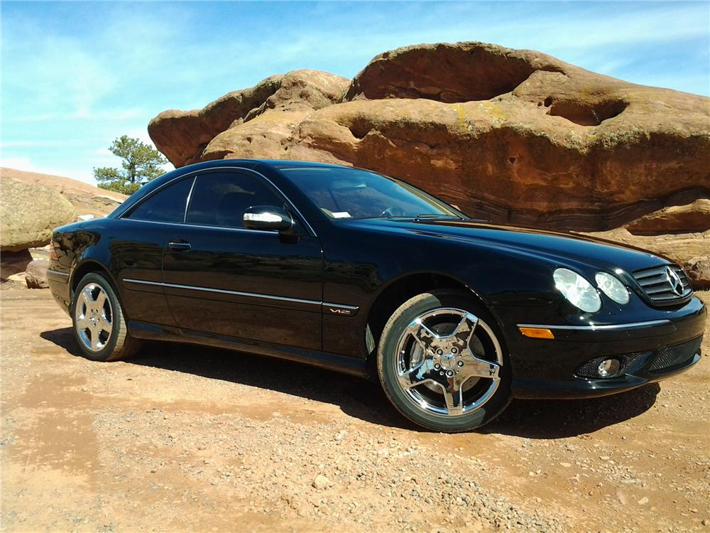 2005 mercedes benz cl600 2 door coupe 152080 for Mercedes benz coupe 2005