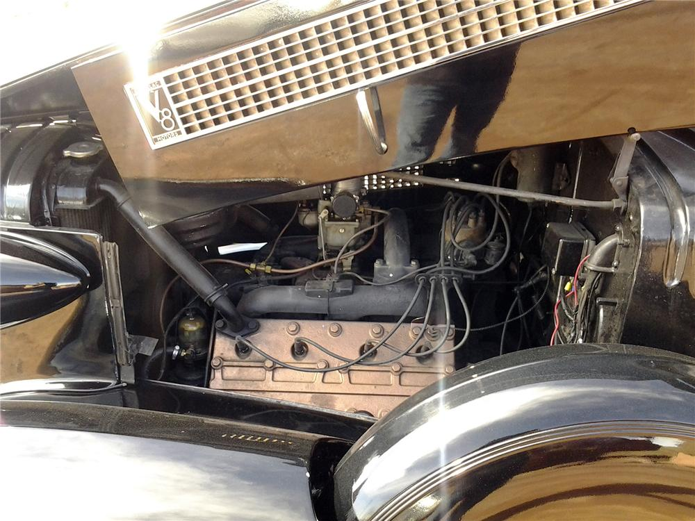 1937 CADILLAC FLEETWOOD SERIES 75 LIMOUSINE - Engine - 152091