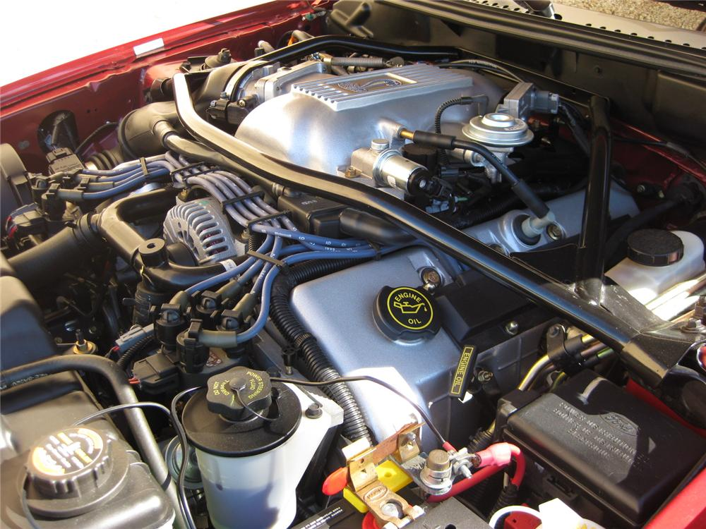 1996 FORD MUSTANG COBRA SVT CONVERTIBLE - Engine - 152092