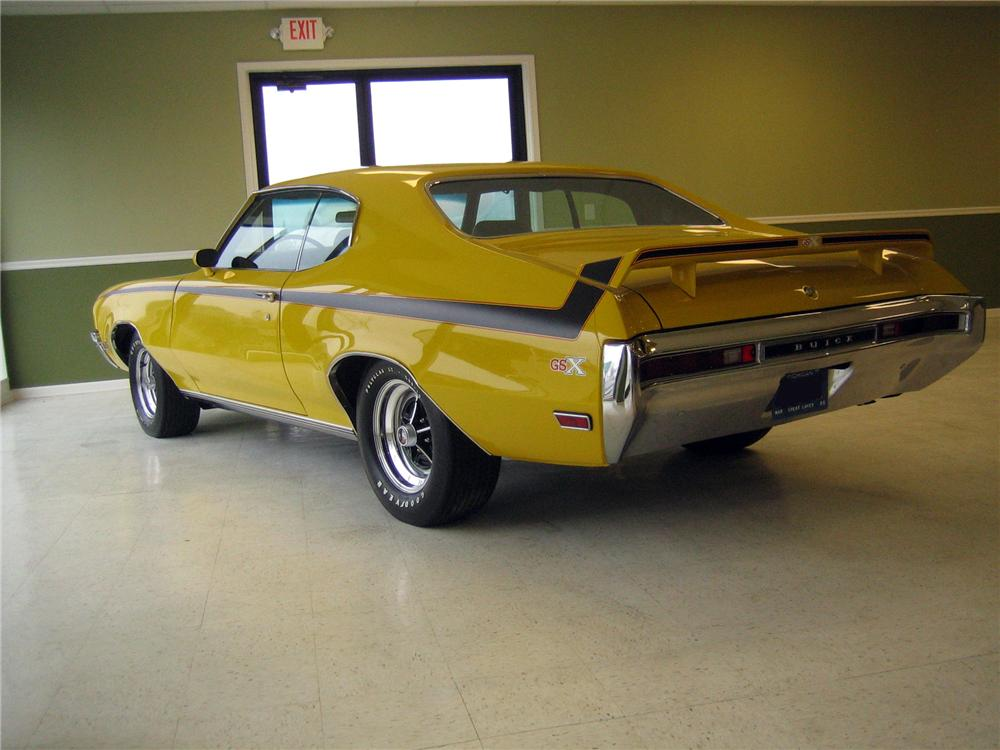 1970 BUICK GSX 2 DOOR COUPE - Rear 3/4 - 152095