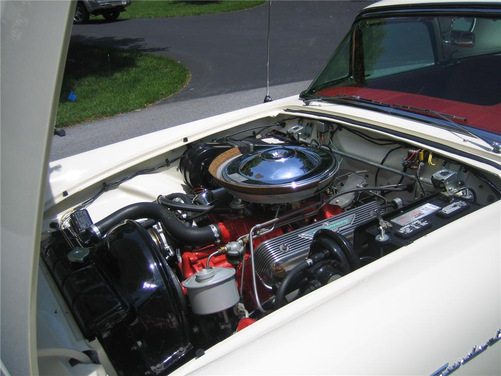 1957 FORD THUNDERBIRD CONVERTIBLE - Engine - 152096
