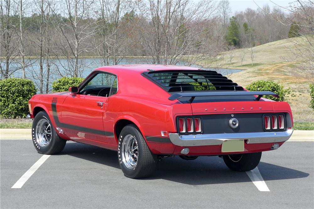 1970 FORD MUSTANG BOSS 302 FASTBACK - Rear 3/4 - 152101