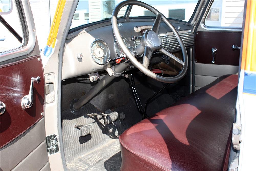 1948 CHEVROLET 1 TON STAKE BED TRUCK - Interior - 152103