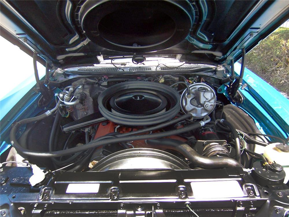 1972 CHEVROLET EL CAMINO PICKUP - Engine - 152114