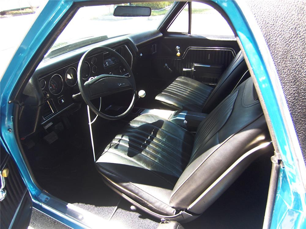 1972 CHEVROLET EL CAMINO PICKUP - Interior - 152114