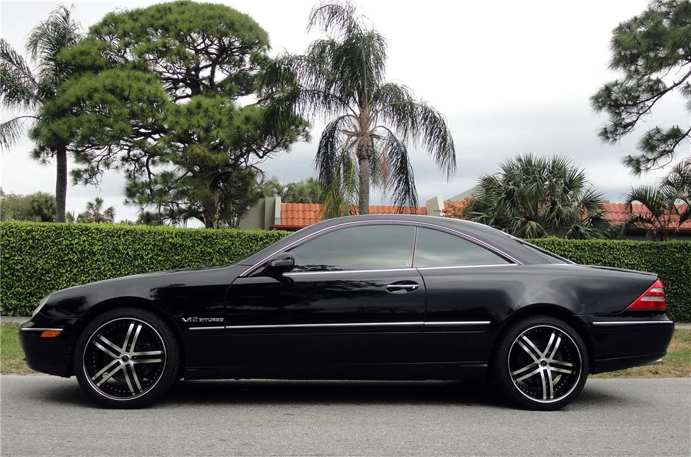 2002 mercedes benz cl600 coupe 152117 for Mercedes benz cl600 price