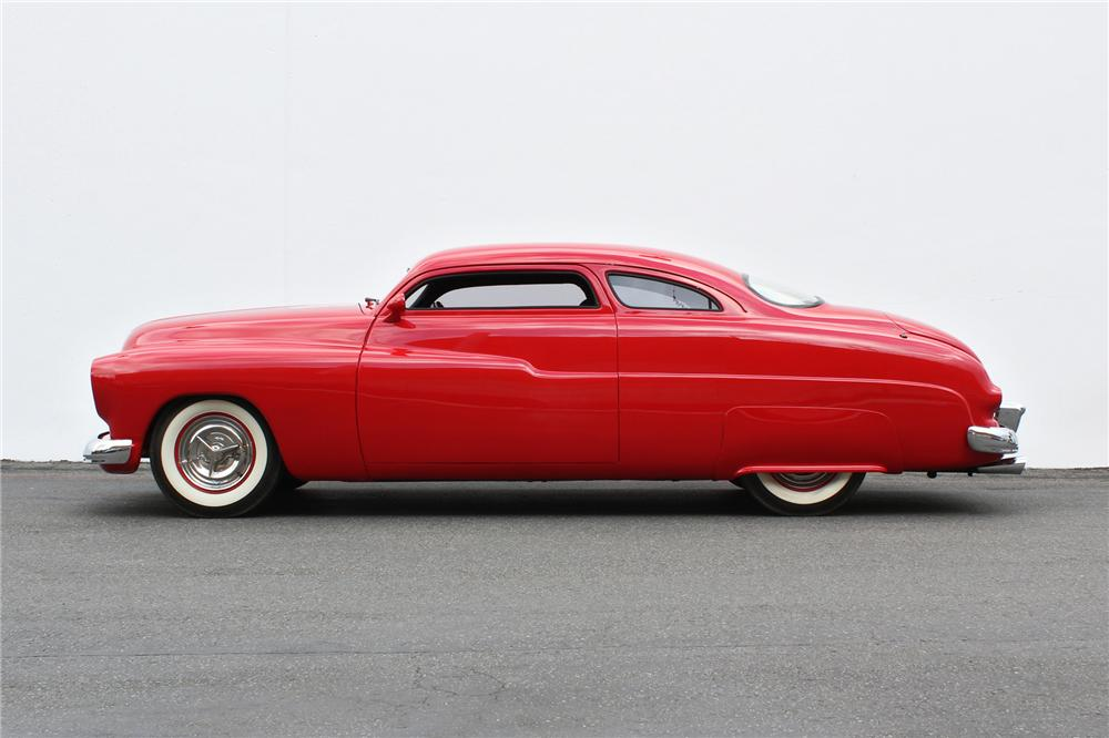 1949 MERCURY HOT ROD COUPE - Side Profile - 152119