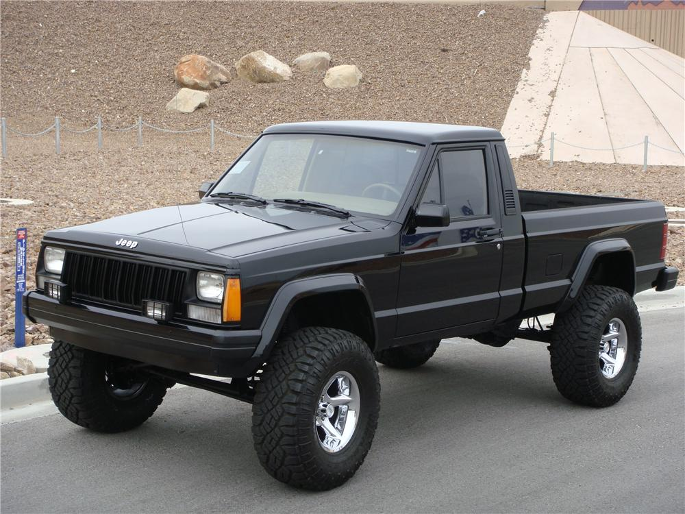 Jeep Grand Wagoneer For Sale >> 1990 JEEP COMANCHE CUSTOM PICKUP