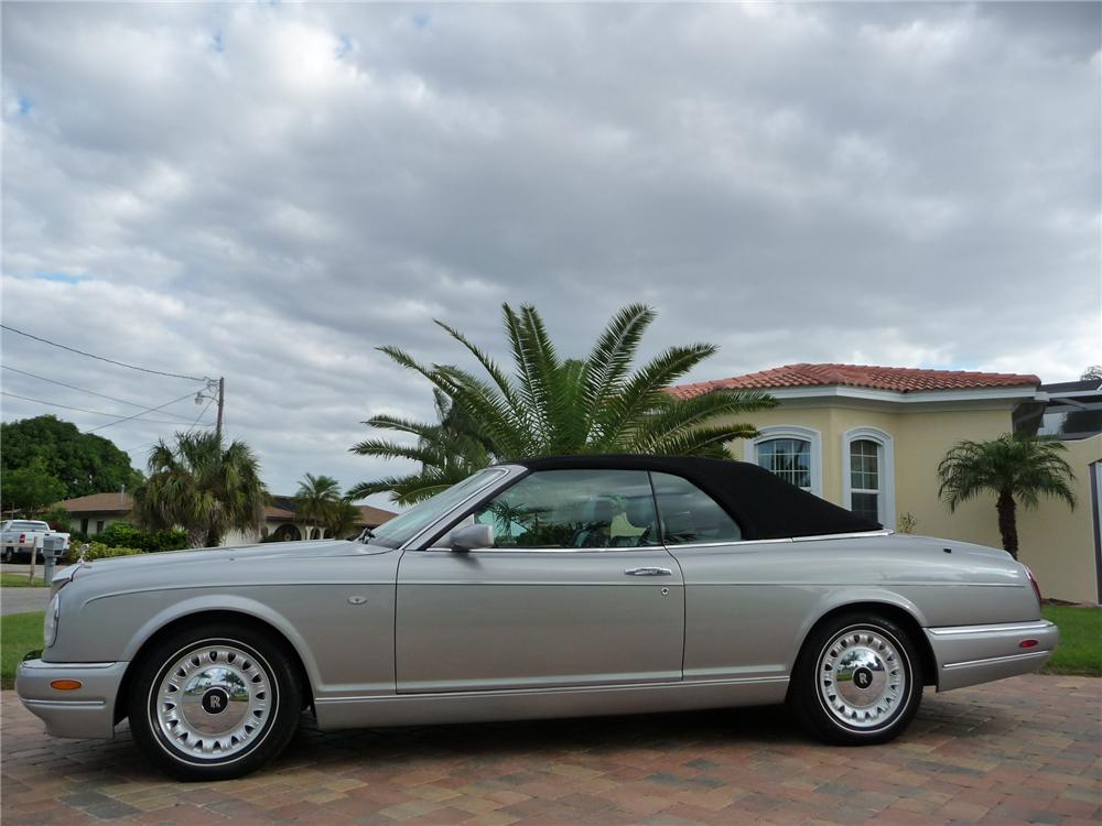 2000 ROLLS-ROYCE CORNICHE CONVERTIBLE - Side Profile - 152128