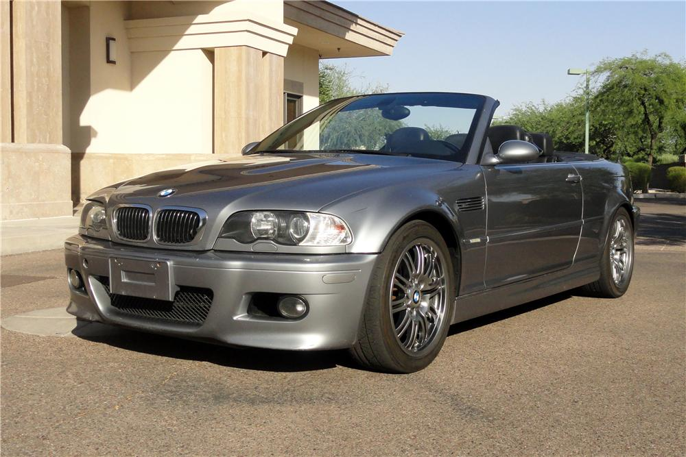 2003 BMW M3 CONVERTIBLE - Front 3/4 - 152138