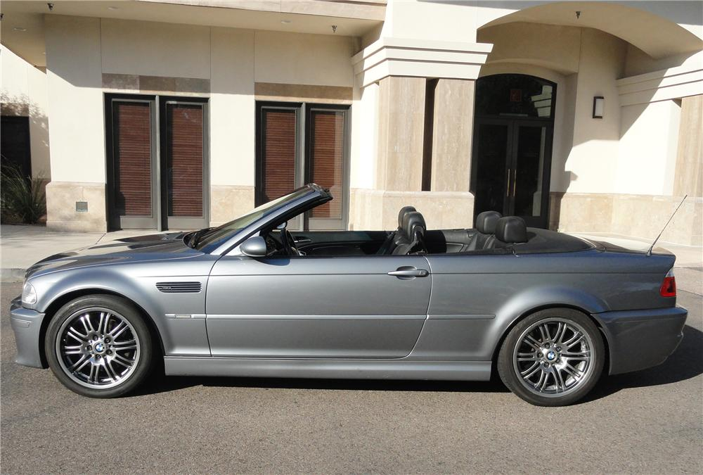 2003 BMW M3 CONVERTIBLE - Side Profile - 152138