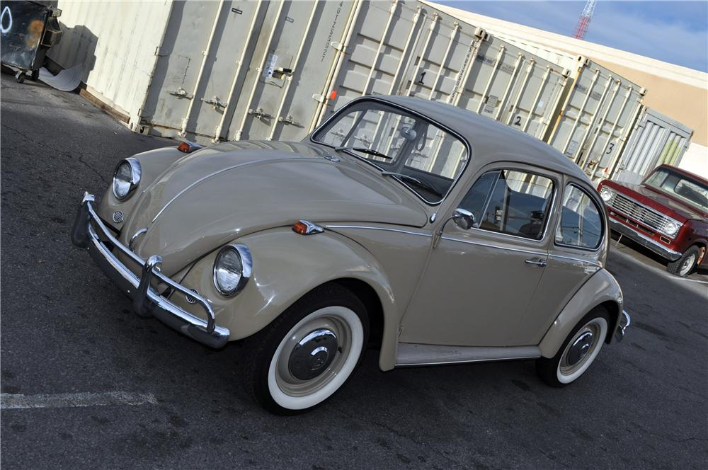1967 VOLKSWAGEN BEETLE 2 DOOR COUPE - Front 3/4 - 152141