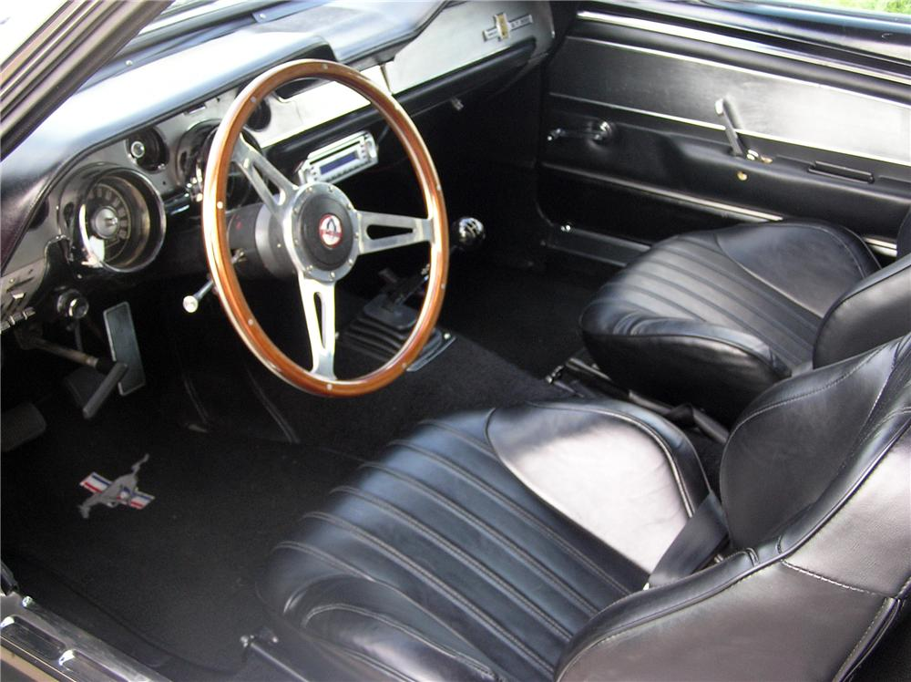 1967 ford mustang custom fastback 152145. Black Bedroom Furniture Sets. Home Design Ideas