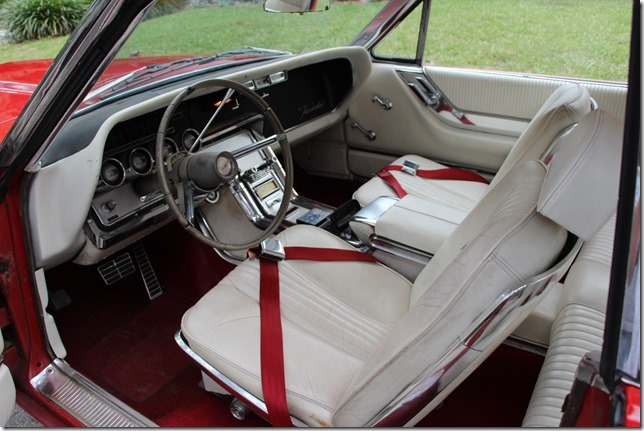 1964 FORD THUNDERBIRD 2 DOOR COUPE - Interior - 152148