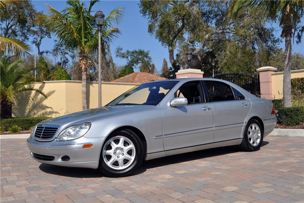 Superior 2001 MERCEDES BENZ S430 4 DOOR SEDAN   Front 3/4   152150 ...